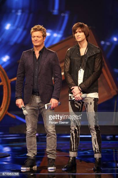Oliver Geissen and Alexander Jahnke during the fourth event show and semi finals of the tv competition 'Deutschland sucht den Superstar' at Coloneum...