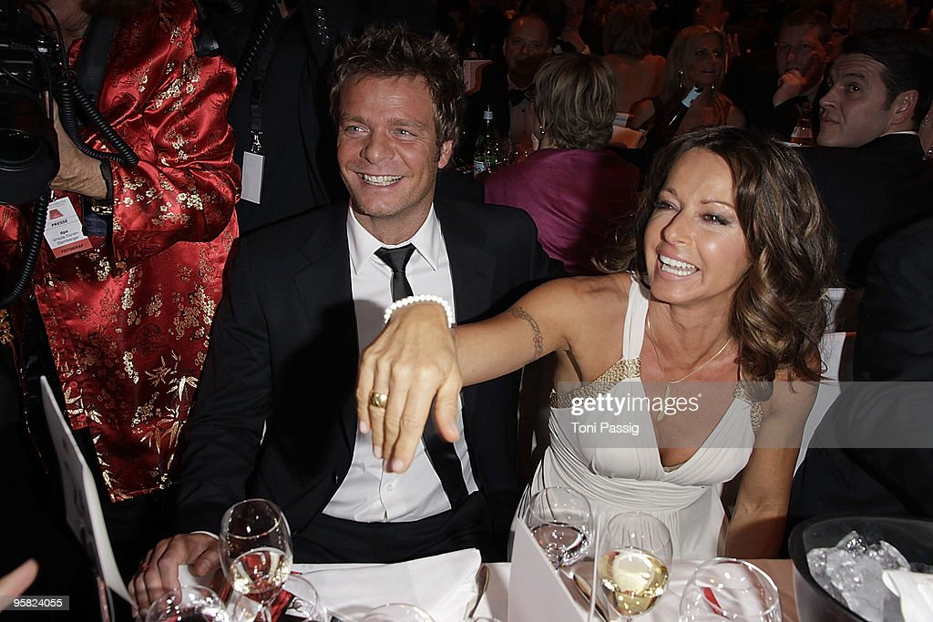 Oliver Geissen And Wife Christina Plate Attend The 37 Th German