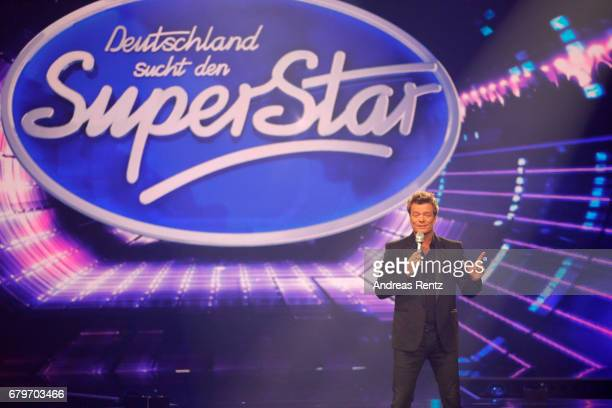 Oliver Geissen during the finals of the tv competition 'Deutschland sucht den Superstar' at Coloneum on May 6 2017 in Cologne Germany