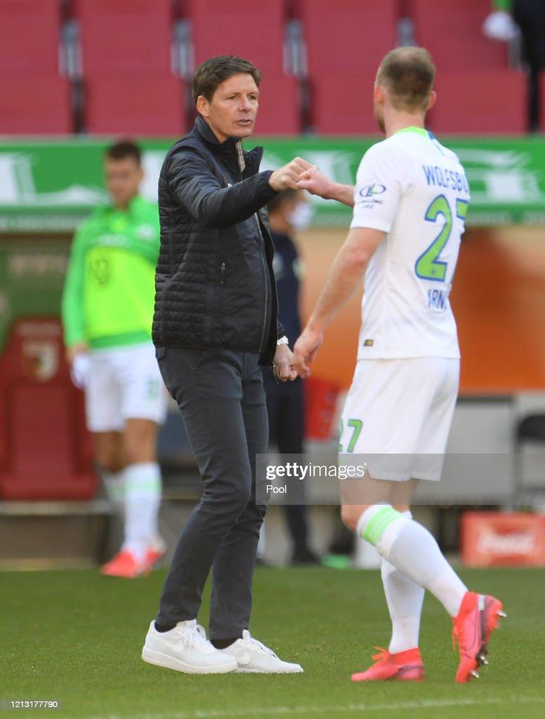 FC Augsburg v VfL Wolfsburg - Bundesliga : Foto di attualità