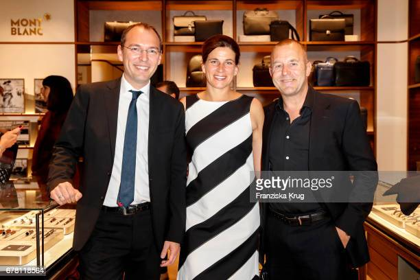 Oliver Goessler « MarieJeanette Ferch and Heino Ferch attend the Montblanc spring party on May 3 2017 in Munich Germany