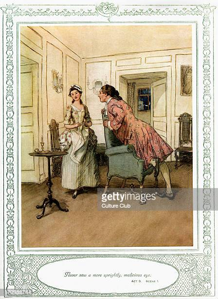 She Stoops To Conquer Stock Photos And Pictures