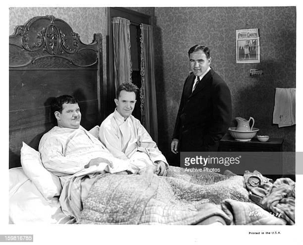 Oliver HardyStan Laurel and Hal Roach circa 1935