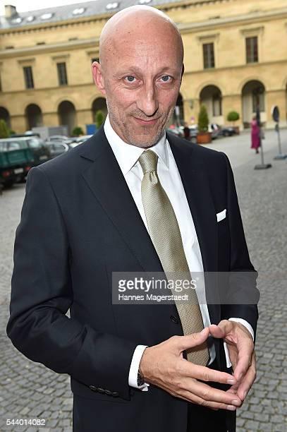 Oliver Hirschbiegel attends the Bernhard Wicki Award during the Munich Film Festival 2016 at Cuvilles Theatre on June 30 2016 in Munich Germany