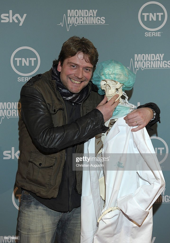 Oliver Hoerner attends the 'Monday Mornings' Preview Event of TNT Serie at East Hotel on February 5th, 2013 in Hamburg, Germany. The series premieres on February 7th (every Thursday at 8:15 pm on TNT Serie).