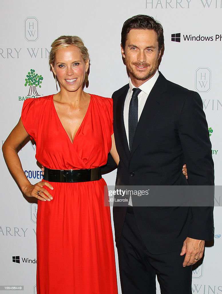 Oliver Hudson and Erinn Bartlett attend the 1st Annual Baby2Baby Gala Presented By Harry Winston at Book Bindery on November 3, 2012 in Culver City, California.