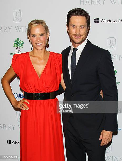 Oliver Hudson and Erinn Bartlett attend the 1st Annual Baby2Baby Gala Presented By Harry Winston at Book Bindery on November 3 2012 in Culver City...