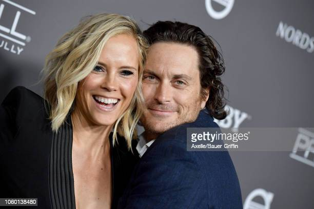Oliver Hudson and Erinn Bartlett attend the 2018 Baby2Baby Gala Presented by Paul Mitchell at 3LABS on November 10 2018 in Culver City California