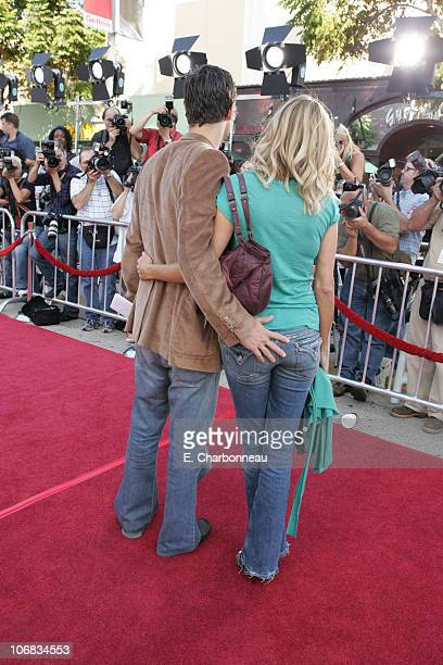 Oliver Hudson and Erinn Bartlett during DreamWorks Pictures' Dreamer Inspired by a True Story Los Angeles Premiere Red Carpet at Mann Village Theatre...