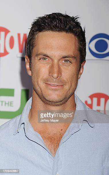 Oliver Hudson arrives at the TCA Party for CBS The CW and Showtime held at The Pagoda on August 3 2011 in Beverly Hills California