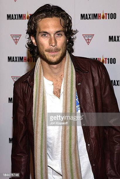 Oliver Hudson during Maxim Hot 100 Party Arrivals at Yamashiro in Hollywood California United States