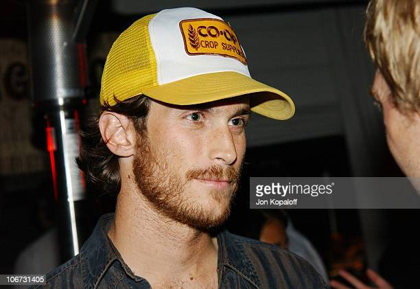 """Oliver Hudson during PlayStation 2 """"Bungalow Beach Party"""" at Viceroy Hotel in Santa Monica, California, United States."""