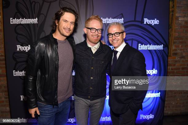 Oliver Hudson Jesse Ferguson and Jess Cagle attend Entertainment Weekly PEOPLE New York Upfronts celebration at The Bowery Hotel on May 14 2018 in...