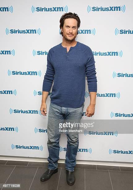 Oliver Hudson visits at SiriusXM Studios on November 18 2015 in New York City