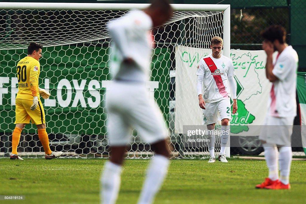 Werder Bremen v Erzgebirge Aue  - Friendly Match