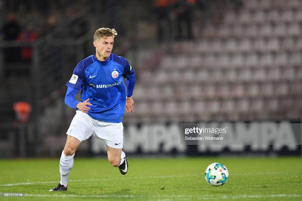 SpVgg Unterhaching v F.C. Hansa Rostock - 3. Liga