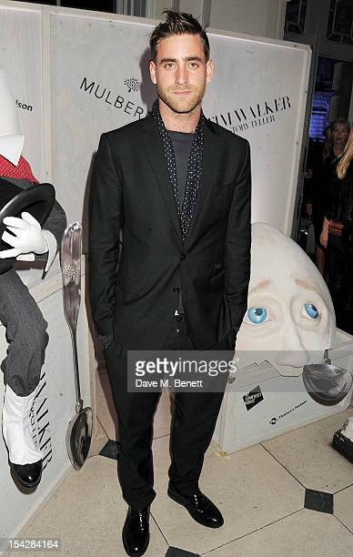 Oliver Jackson Cohen attends a private view of 'Tim Walker Story Teller' supported by Mulberry at Somerset House on October 17 2012 in London England