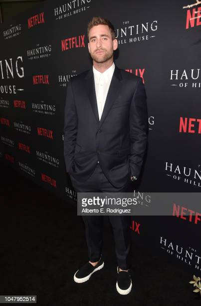 Oliver JacksonCohen attends the premiere of Neflix's 'The Haunting Of Hill House' at ArcLight Hollywood on October 8 2018 in Hollywood California