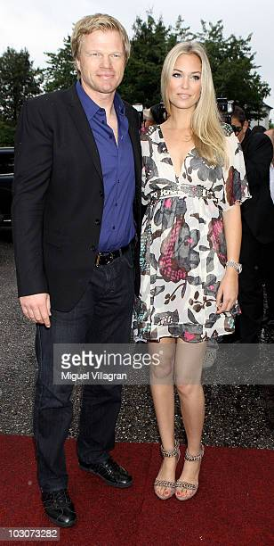 Oliver Kahn and his girlfriend Svenja attend the gala dinner of the Kaisercup Golf tournament on July 24 2010 in Bad Griesbach Germany