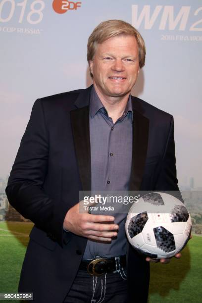 Oliver Kahn during the TV programs ARD and ZDF present their team for the 2018 FIFA World Championship in Russia on April 23 2018 in Hamburg Germany