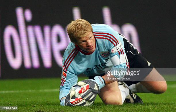 Oliver Kahn former goalkeeper of Muenchen is seen during the Oliver Kahn farewell match between FC Bayern Muenchen and Germany at the Allianz Arena...