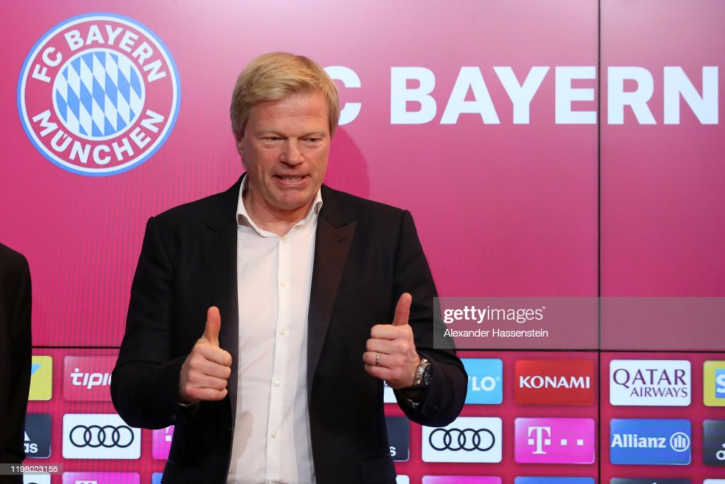 FC Bayern Muenchen Presents New Board Member Oliver Kahn : News Photo