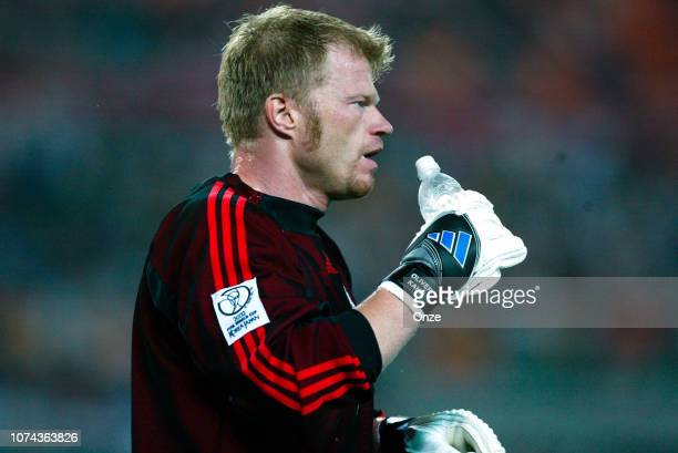 Oliver KAHN of Germany during the FIFA World Cup match between Cameroon and Germany on June 11 2002 in Ecopa de Shizuoka stadium Japan