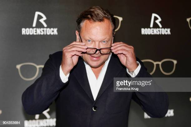 Oliver Kastalio CEO Rodenstock during the Rodenstock Eyewear Show on January 12 2018 in Munich Germany