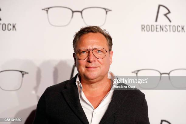 Oliver Kastalio during the Rodenstock Eyewear Show 'A New Vision of Style' at Isarforum on January 24 2019 in Munich Germany
