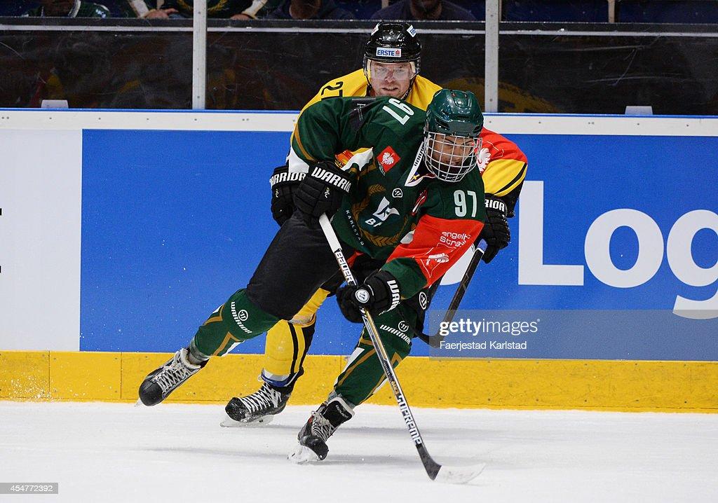 Faerjestad Karlstad v Vienna Capitals - Champions Hockey League : News Photo