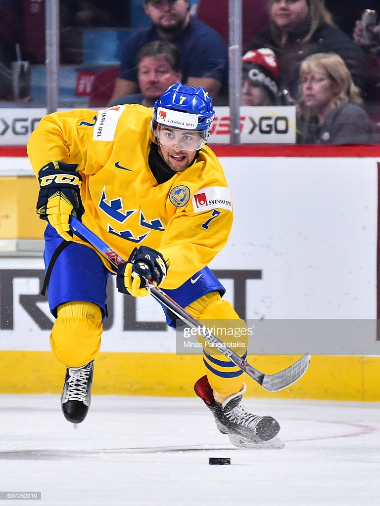 Switzerland v Sweden - 2017 IIHF World Junior Championship : News Photo
