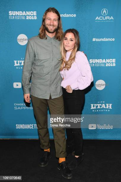 Oliver Lanzenberg and Kate Krieger attend the Indie Episodic Program 2 during the 2019 Sundance Film Festival at Prospector Square Theatre on January...