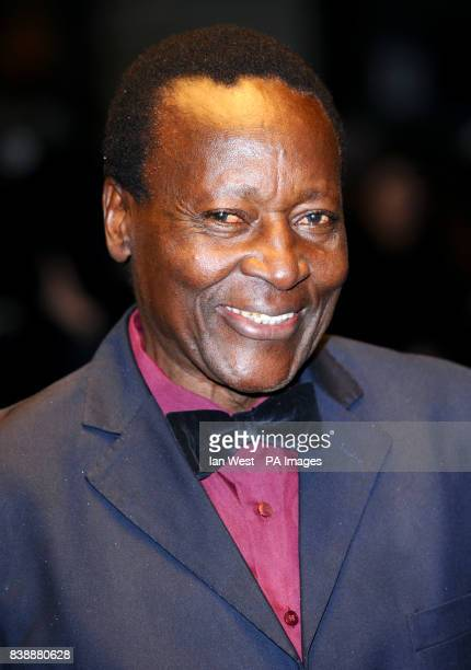 Oliver Litondo arrives at the premiere of The First Grader the Odeon West End cinema in LondonPRESS ASSOCIATION photo Picture date Tuesday 26th...