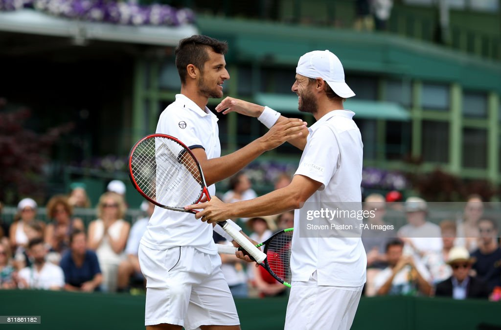 Wimbledon 2017 - Day Seven - The All England Lawn Tennis and Croquet Club : News Photo