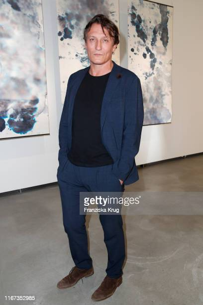 Oliver Masucci during the Montblanc de la Culture Arts Patronage Award 2019 at Kuenstlerhaus Bethanien on September 10 2019 in Berlin Germany