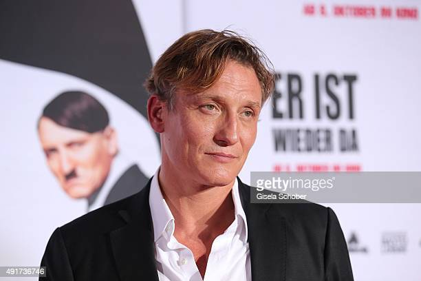 Oliver Masucci during the special screening of the film 'Er ist wieder da' at Mathaeser Filmpalast on October 7, 2015 in Munich, Germany.