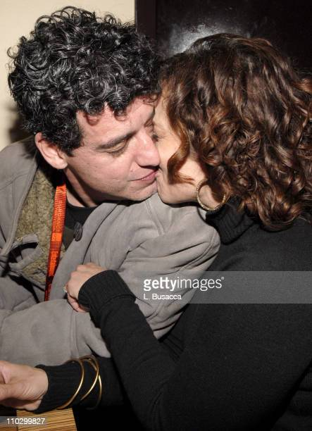 Oliver Mayer and Marlene Forte during 2007 Park City Hollywood Life House Adrift in Manhattan Cocktail Party at Hollywood Life House in Park City...