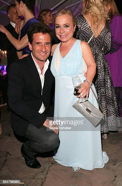 Oliver Mommsen and ChrisTine Urspruch during the Lola German Film Award 2016 after show party at Palais am Funkturm on May 27 2016 in Berlin Germany
