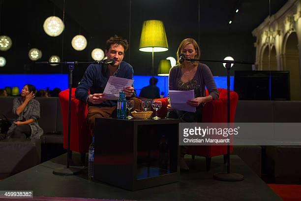 Oliver Mommsen and Gesine Cukrowski attend the 'Mein Mali' Book Presentation at Komische Oper on December 4 2014 in Berlin Photo by Christian...