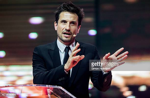 Oliver Mommsen attends the Radio Regebenbogen Award Show 2015 at Europapark on April 24, 2015 in Rust, Germany.