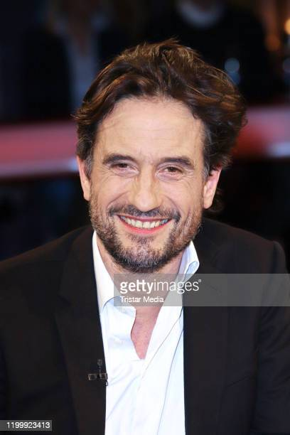 Oliver Mommsen during the NDR Talk Show on January 10, 2020 in Hamburg, Germany.
