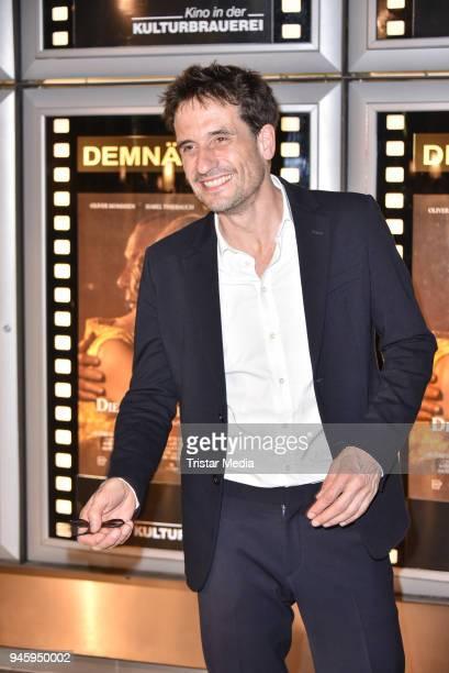 Oliver Mommsen during the premiere 'Die Haut der Anderen' at Kino in der Kulturbrauerei on April 13 2018 in Berlin Germany