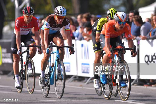 Oliver Naesen of Belgium and Team AG2R La Mondiale / during the 9th Grand Prix Cycliste de Montreal 2018 a 1952km race from Montreal to Montreal 79m...