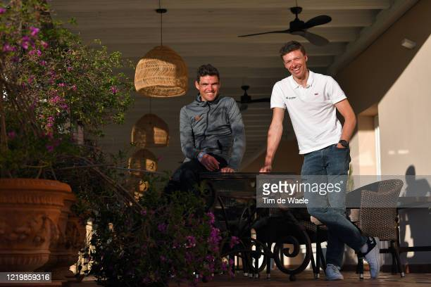 Oliver Naesen of Belgium and Team AG2R La Mondiale / Greg Van Avermaet of Belgium and CCC Team / Photo Session / @CCCProTeam / #allezALM / on...