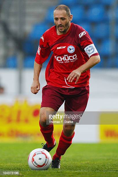 Oliver Neuville of Bielefeld runs with the ball during the Second Bundesliga match between VfL Bochum and Arminia Bielefeld at the Rewirpower Stadium...