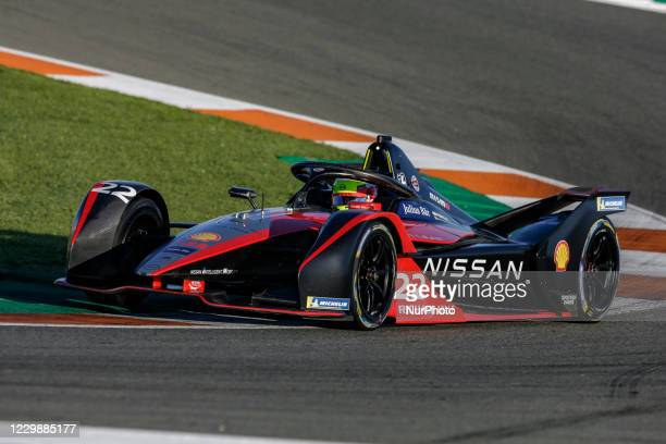 Oliver , Nissan e.dams, Nissan IM02, action during the ABB Formula E Championship official pre-season test at Circuit Ricardo Tormo in Valencia on...