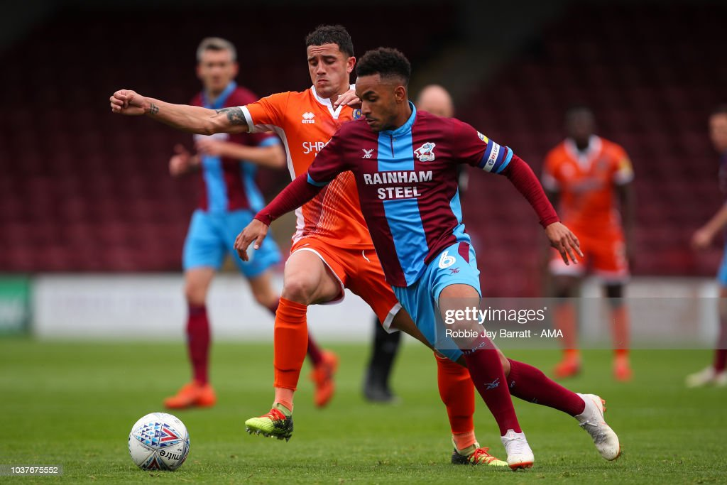Scunthorpe United v Shrewsbury Town - Sky Bet League One