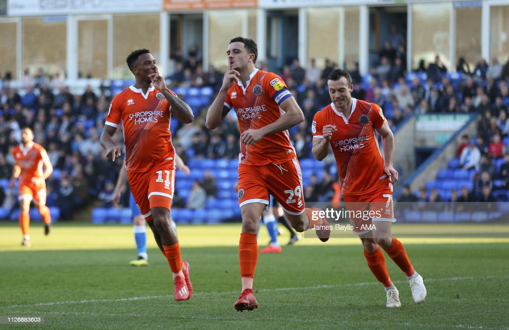 GBR: Peterborough United v Shrewsbury Town - Sky Bet League One