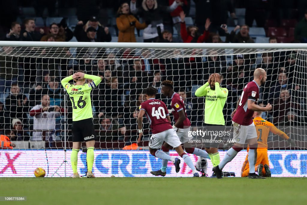 Aston Villa v Sheffield United - Sky Bet Championship : News Photo