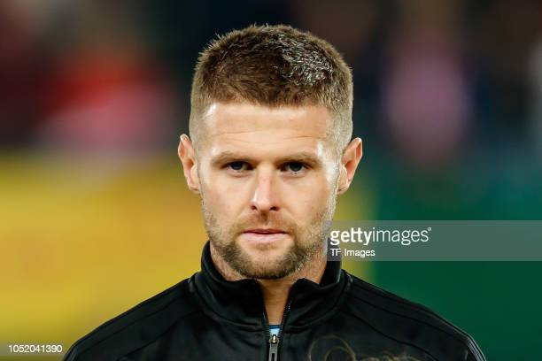 Oliver Norwood of Northern Ireland looks on prior to the UEFA Nations League B group three match between Austria and Northern Ireland at...